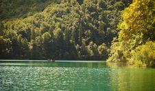 Free Romantic Lake Scene Royalty Free Stock Photo - 16153475