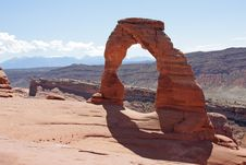Free Delicate Arch In Arches National Park Royalty Free Stock Photos - 16153568