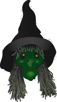 Free Folk Art Witch Royalty Free Stock Photos - 16154348