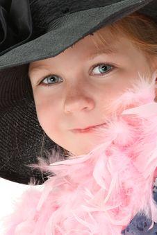 Free Dress Up Girl Stock Image - 16154351