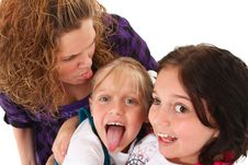 Free Funny Family Expressions Stock Photos - 16154423