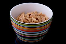 Free Bowl Of Peanuts Stock Image - 16154651