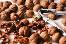 Free Walnuts Royalty Free Stock Photography - 16155757