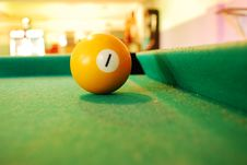 Free Billiard Ball Royalty Free Stock Images - 16156379