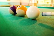 Free Billiard Balls Royalty Free Stock Image - 16156386