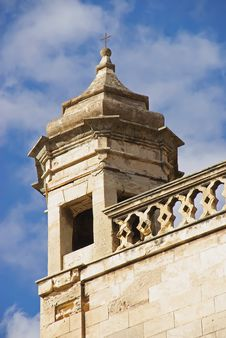 Free Old Church Tower Royalty Free Stock Image - 16156416
