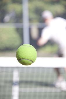 Free Winning Shot Right Down The Line Royalty Free Stock Photography - 16156587