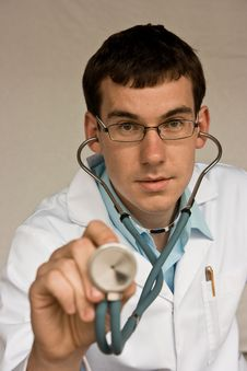 Free Young Resident Doctor Royalty Free Stock Photos - 16156738
