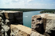 Free View Of A Lake From A Tower Stock Photos - 16156913