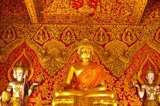 Gold Buddha Image Stock Image
