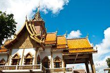 Free Traditional Thai Style Church Stock Photo - 16157850