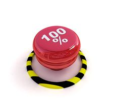 Free The Red Button With Percent Royalty Free Stock Photos - 16157878