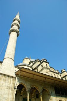Eminonu Mosque Stock Photo