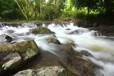 Free The Stream In Jad Kod Forest, Thailand. Stock Images - 16158324