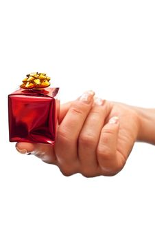 Free Present In Hand Stock Photos - 16159073