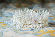 Free Garter Of The Bride Royalty Free Stock Photos - 16159198