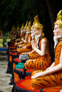 Free Ascetic Statue In Thai Style Molding Art Stock Photo - 16166220