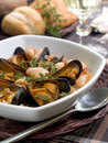 Free Mussel Soup Royalty Free Stock Photos - 16167718