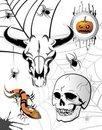 Free Set Of Halloween Elements Stock Photography - 16168772