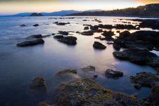 Free Sunset On The Mediterranean Sea Stock Photo - 16160120