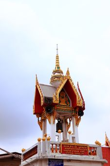The Crematory In Thailand. Royalty Free Stock Photos