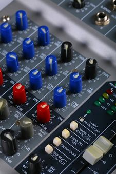 Free Channel Mixer Stock Image - 16160511