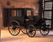 Free Black Carriage Royalty Free Stock Image - 16161016