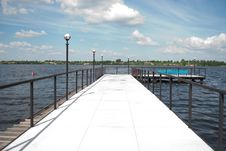 Free View From The Pier Royalty Free Stock Photos - 16162438
