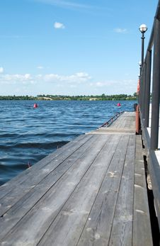 Free View From The Pier Stock Photography - 16162462