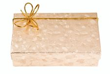 Free Gift Boxes With Gold Ribbon Royalty Free Stock Image - 16163436
