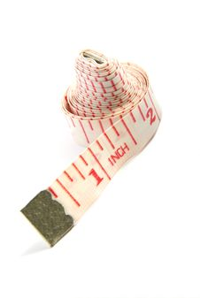 Free Measuring Tape Royalty Free Stock Photography - 16163607