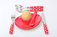 Free Table Set For Breakfast Royalty Free Stock Photography - 16163707