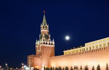 Free Red Square At Night Royalty Free Stock Photography - 16163827