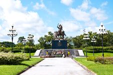 Free King Taksin Monument. Stock Photography - 16163952