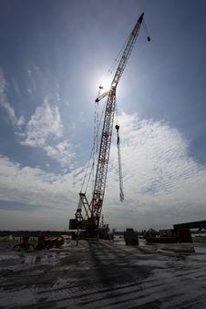 Free Heavy Crane Royalty Free Stock Photography - 16163957