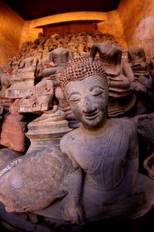 Free Buddha Lao Royalty Free Stock Image - 16164356