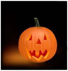 Free Halloween Pumpkin. Royalty Free Stock Image - 16165056