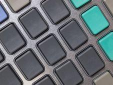 Free Blank Calculator Keypad Stock Image - 16165331