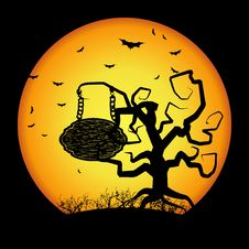 Free Halloween Background Royalty Free Stock Images - 16165729