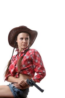 Free Cow-girl Stock Images - 16165894