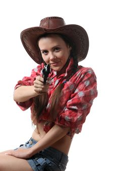 Free Cow-girl Stock Photo - 16165900
