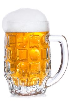 Free Mug With Beer Royalty Free Stock Photos - 16165908