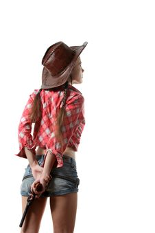 Free Cow-girl Royalty Free Stock Image - 16165916