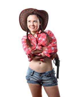 Free Cow-girl Stock Photography - 16165922
