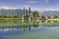 Free The Village Of Le Praz, Close To The Vanoise NP Stock Photos - 16166143
