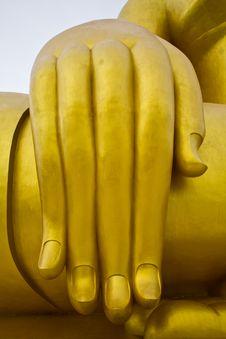 Free Hand Of The Buddha Stock Image - 16166161