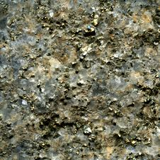 Free Texture Of Pyrite Crystal In Quartz Royalty Free Stock Photo - 16166635