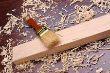 Free Shavings Of Wood, Royalty Free Stock Photo - 16166745