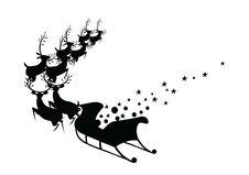 Chrestmas Deer Stock Images