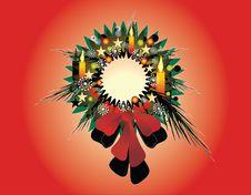 Free Wreath Christmas Stock Photo - 16167590
